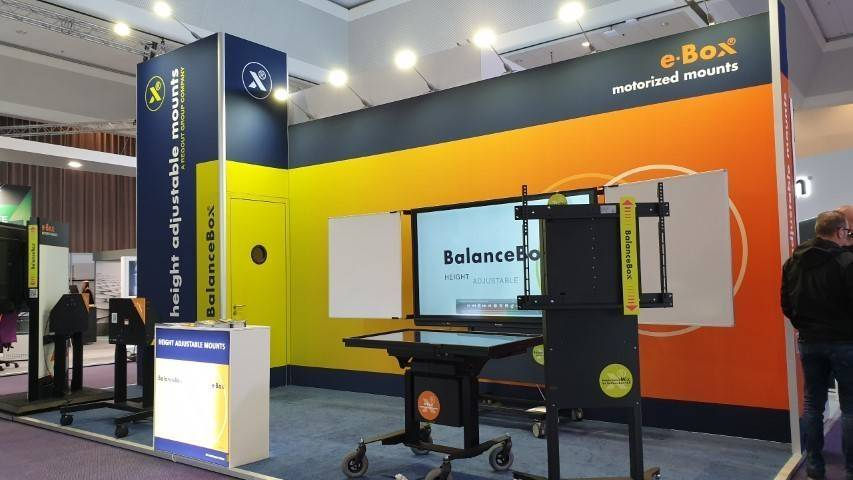 ISE 2020 - BalanceBox® & e-Box® – Hall 13, booth 13-D140