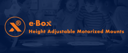 e·Box® | Motorized mounts | Height adjustable mounts