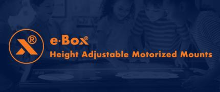 e·Box® | supports motorisés | Supports réglables en hauteur