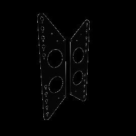 Kit d'adaptateurs universel e·Box®  - 481A117